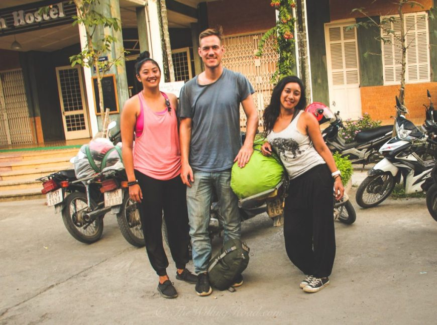 Traveling Vietnam by motorbike is the best way to see the country