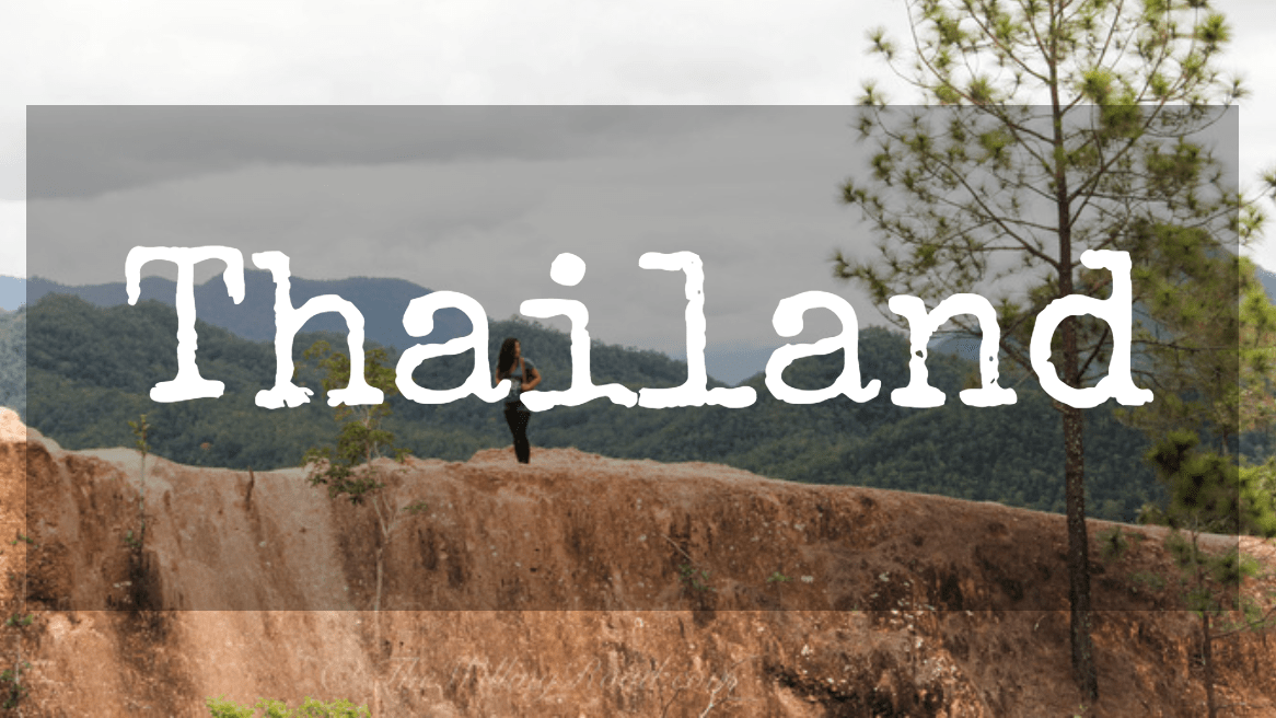 solo female travel through thailand