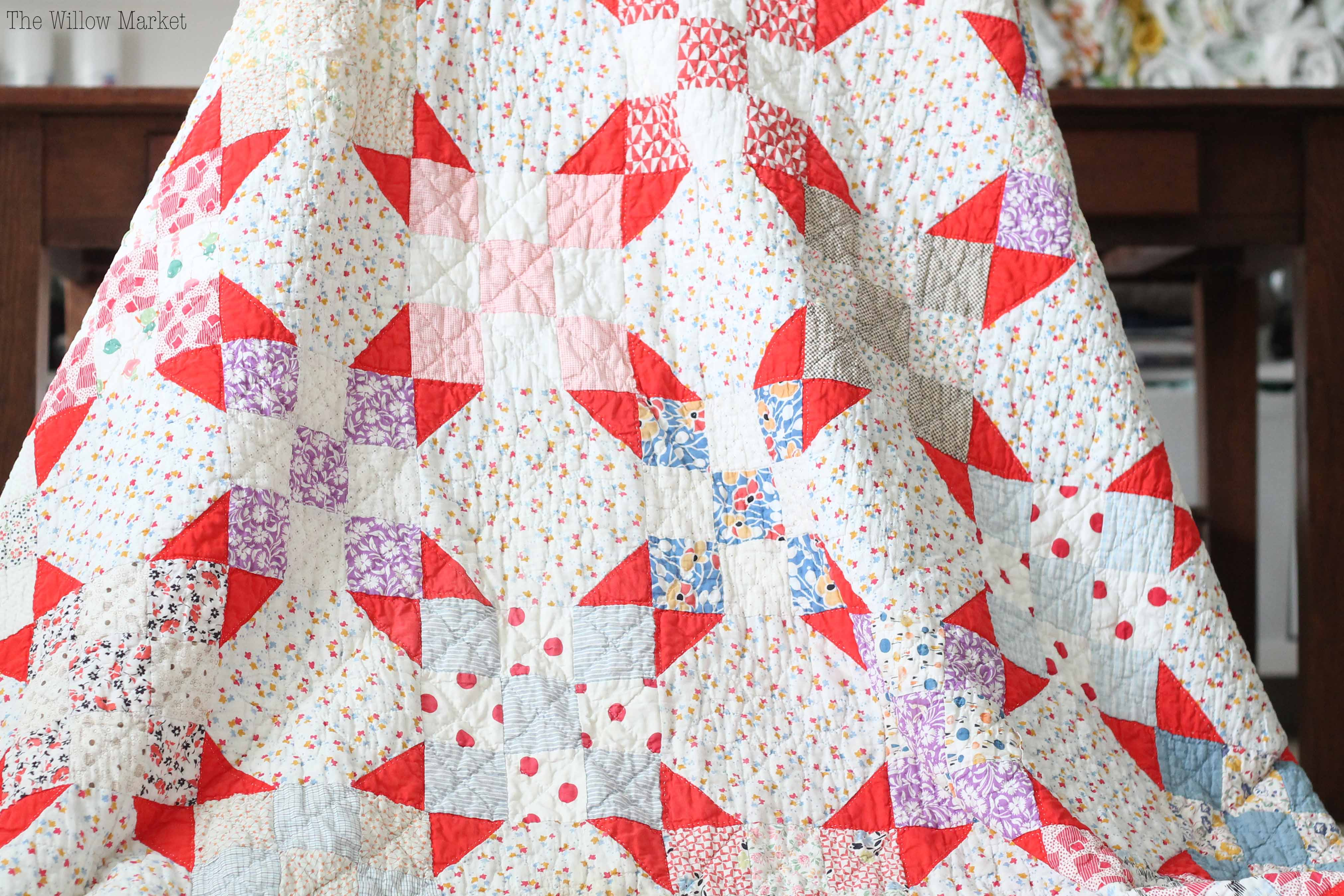 Why would a Quilter buy Vintage Quilts? \u2013 The Willow Market