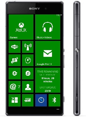 sony windows phone WinCentral