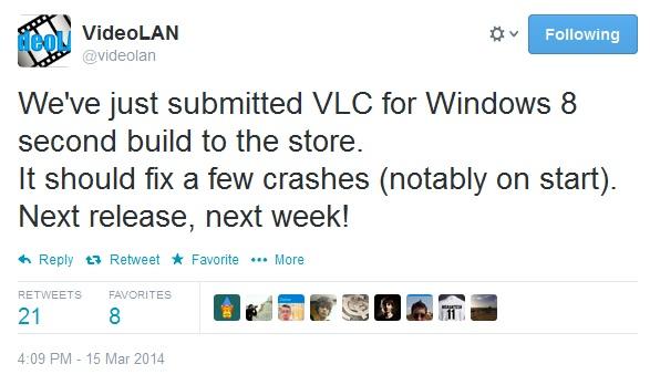 VLC win8