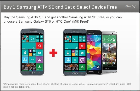 ATIV SE offer