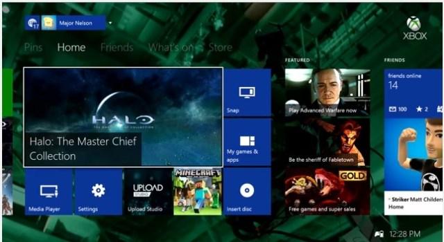 Xbox one nov update