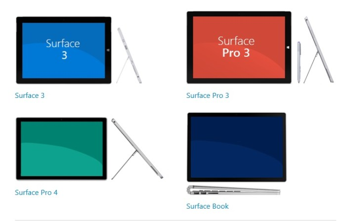 Surface Book update