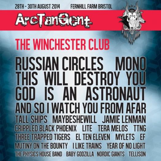 ArcTangent 2014 poster