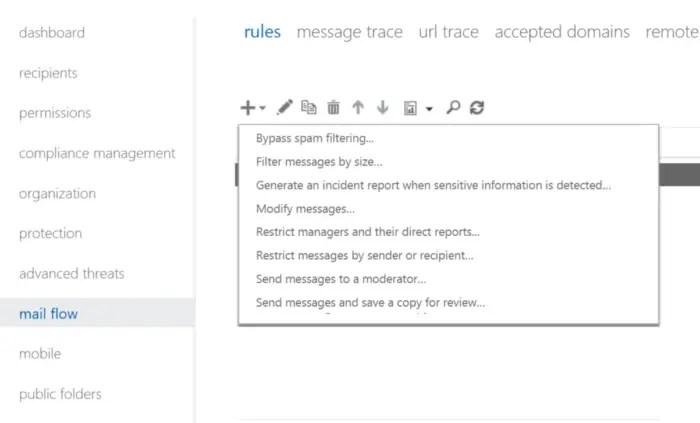 Microsoft Office 365 ransomware rule