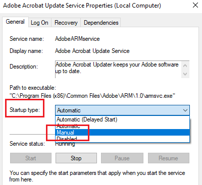What is Adobe_Updater.exe on my Windows 10 PC?