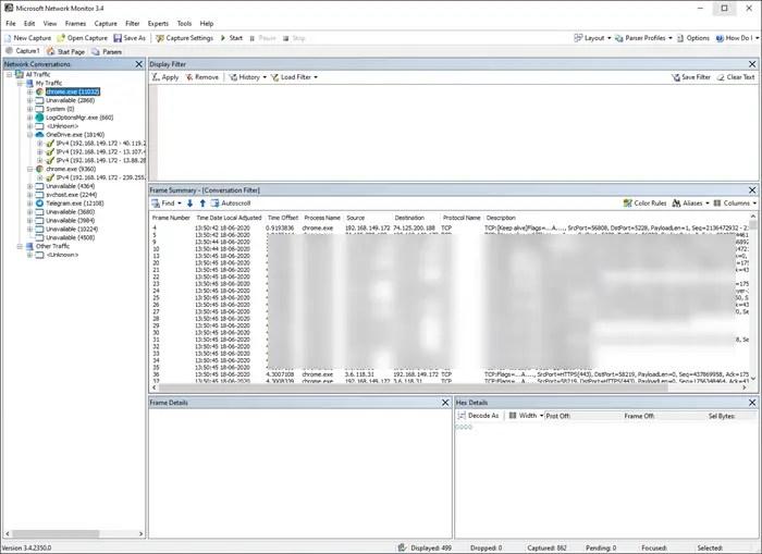 netmon analyzer windows