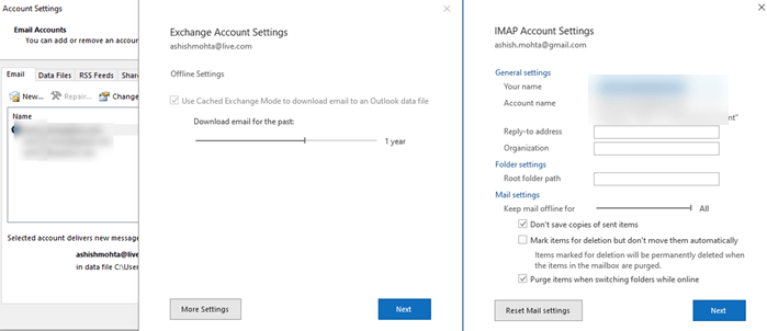 Outlook does not send emails in Windows 10 - With or without attachments