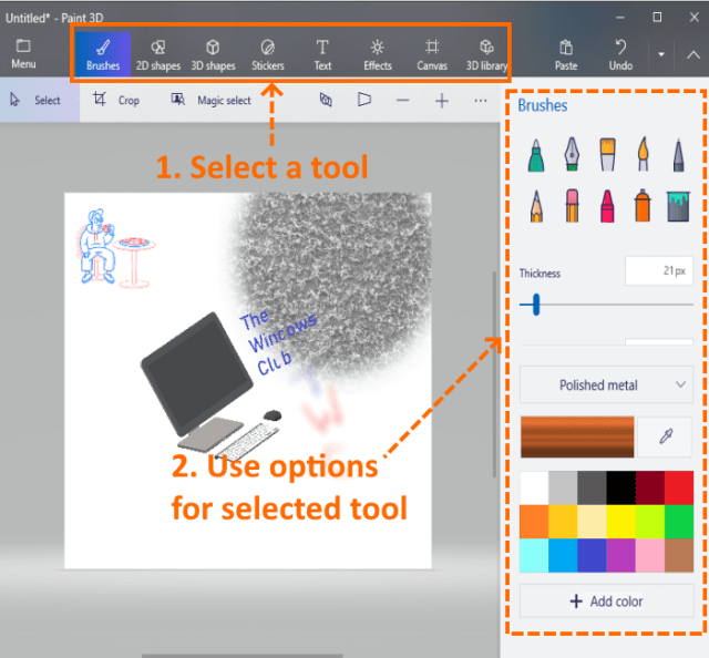 How to make an icon for Windows 10