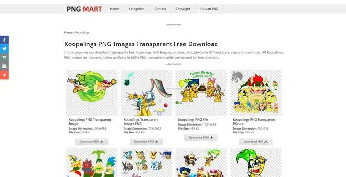 Где скачать PNG изображения с прозрачным фоном