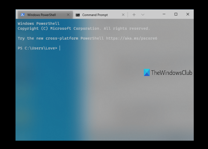 acrylic transparency in Windows Terminal