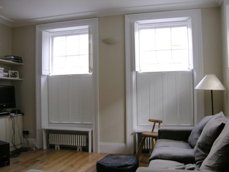 Traditional Solid Shutters  The Window Shutter Company
