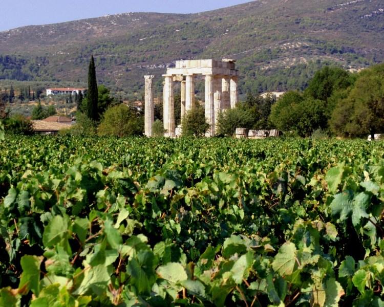 Temple of Zeus at Ktima Papaioannou estate
