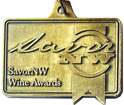 Savor NW wine award