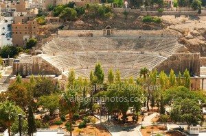The Roman Amphitheater, Amman, Jordan