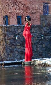 """""""Summertime Lady"""" by David Hostetler, Garden for Sculpture"""