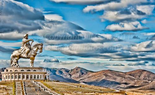 Statue of Chinggis Khan, Mongolia