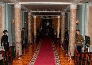 Entrance way to the Sessions Room, Stalin's Bunker, Moscow