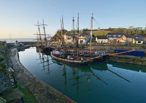 Charlestown Harbor, Cornwall