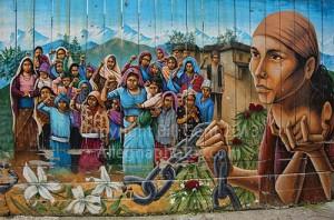 Naya Bihana Mural by Martin Travers, Mission District