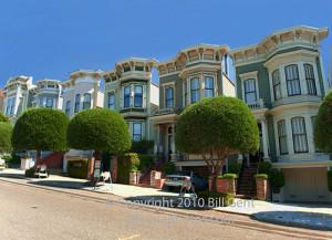 Victorian Houses, San Francisco