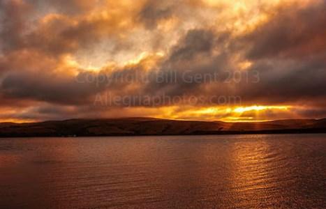 Tomales Bay sunrise
