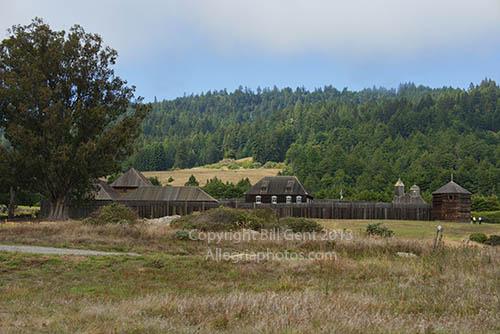 Vista of Fort Ross