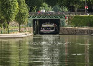 Canal de St. Martin, Paris