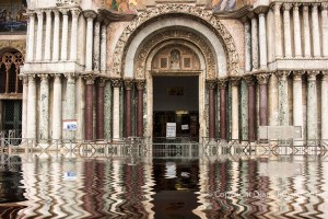 Venice under Water, the Basilica San Marco