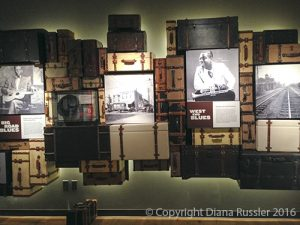 Suitcases from the Great Migration, National Blues Museum