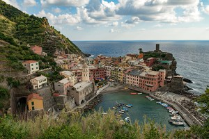 One of the five medieval villages of the Cinque Terre