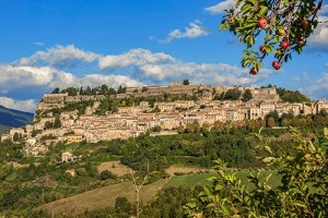 The hilltop town of Civitella del Tronto, Abruzzo