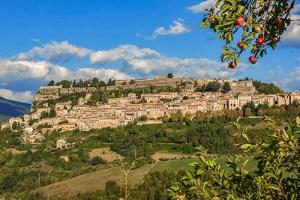 The hilltop town of Civitella del Tronto, Abruzzo