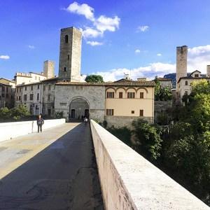 Ascoli Piceno in Le Marche, Italy