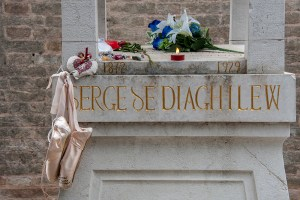 Grave site of Sergei Diaghilev, Venice