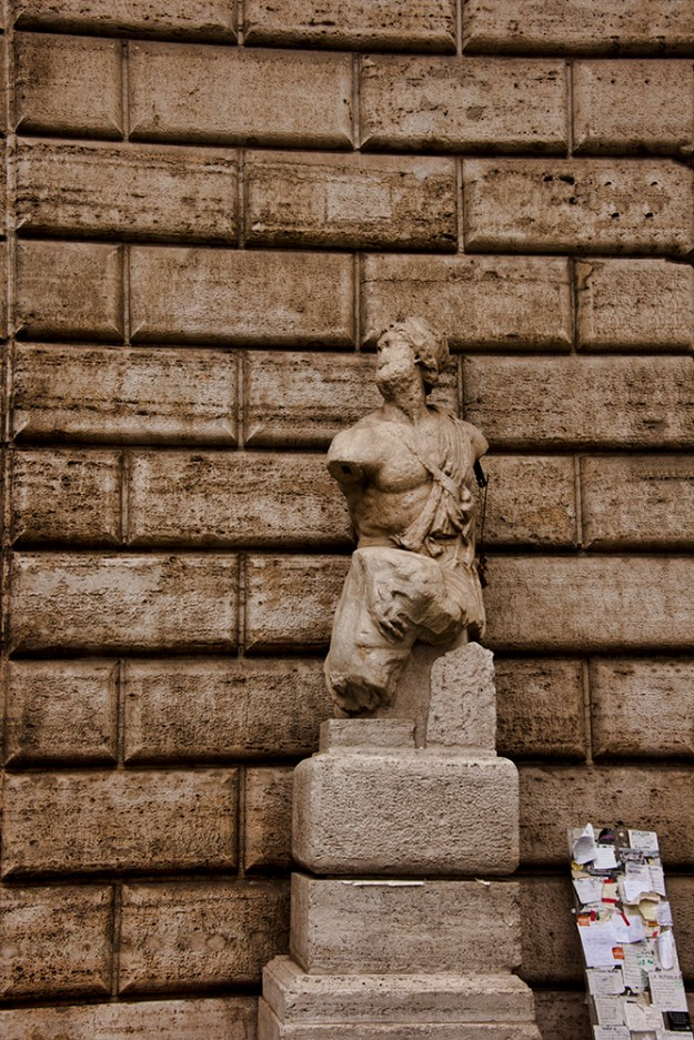 One of Rome's talking statues, Il Pasquino