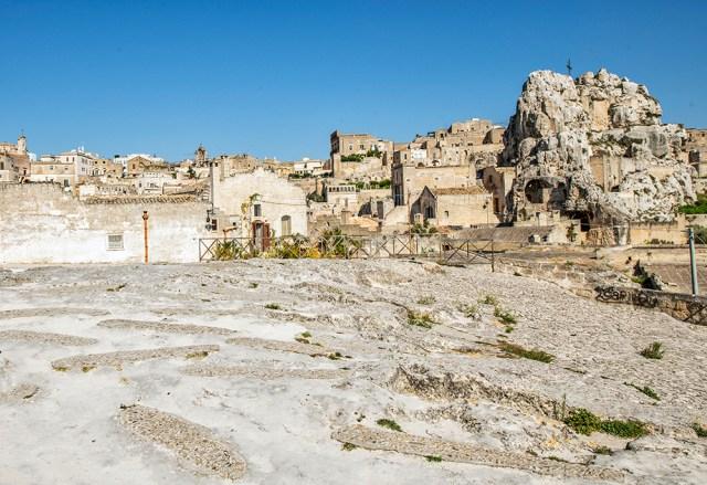 Barbarian's Graveyard behind Madonna di Idriss church, Matera
