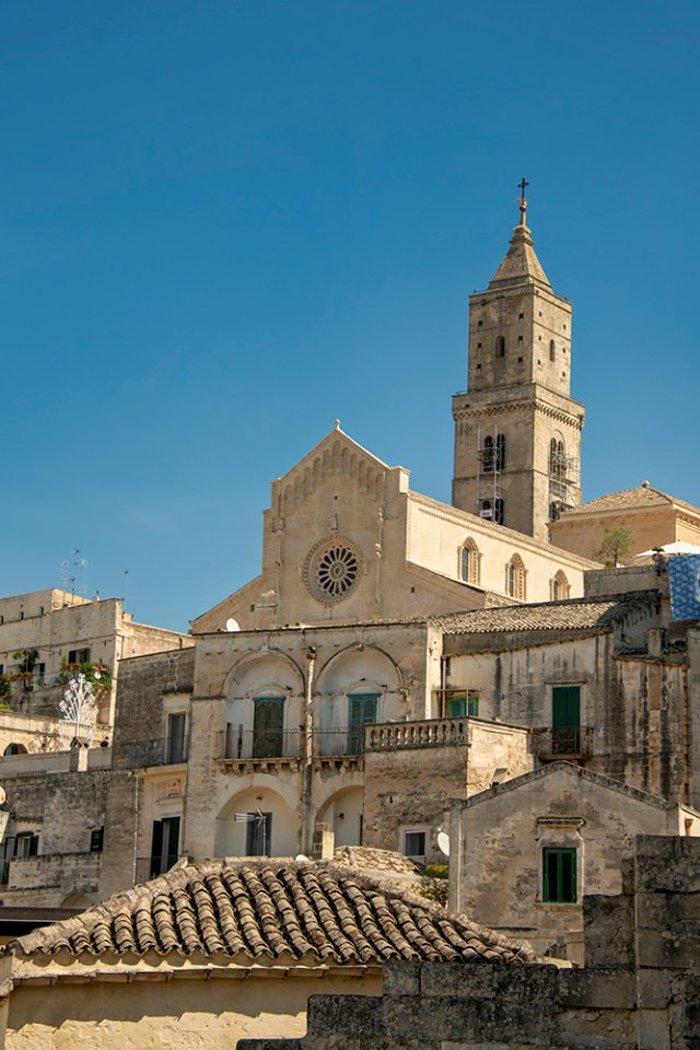 Matera's Cathedral and bell-tower