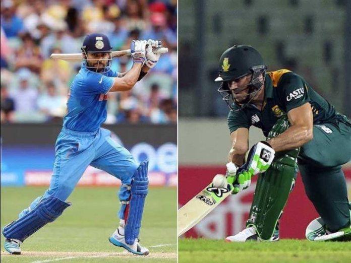 South Africa VS India ODI series