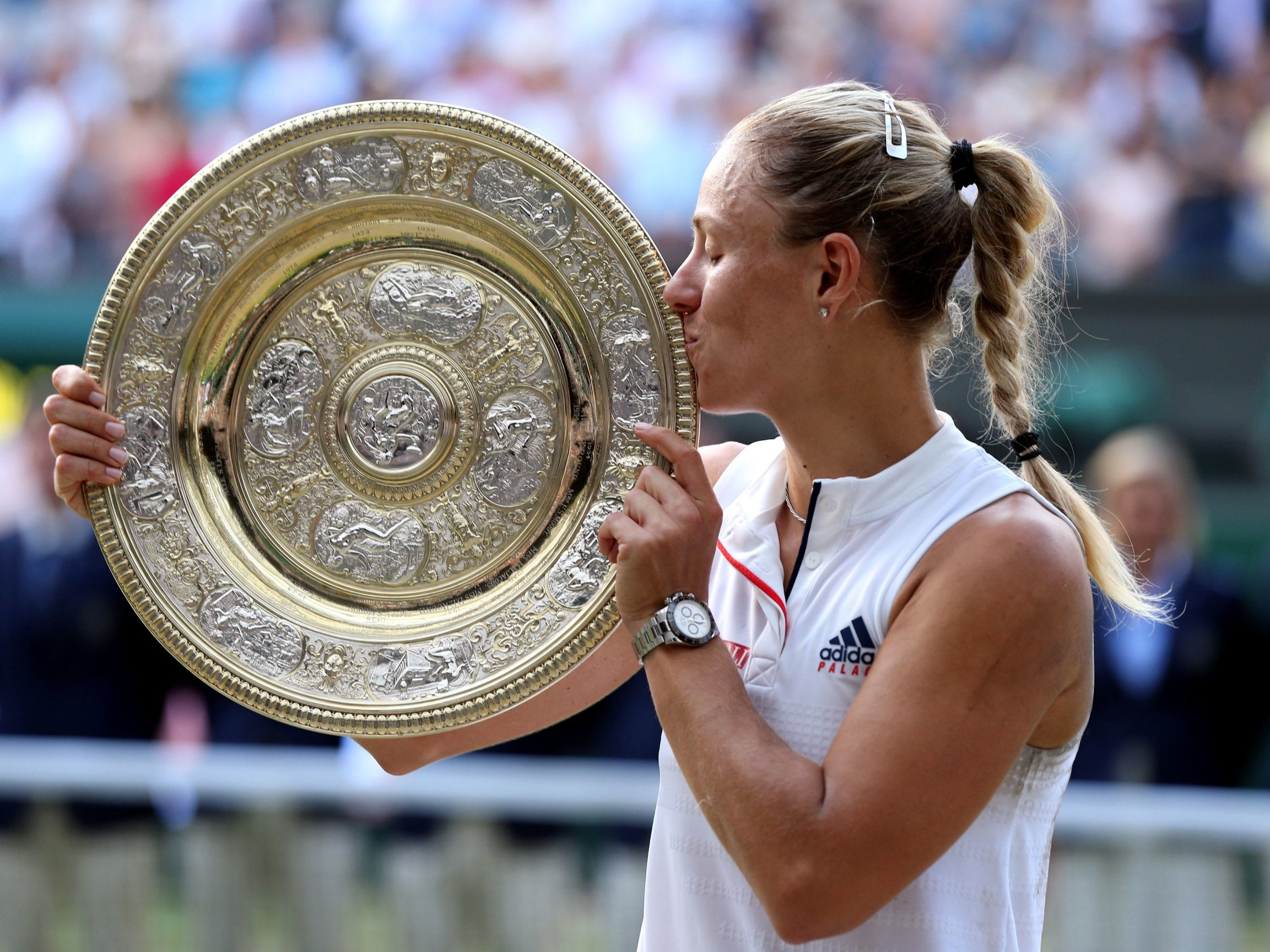 Image result for kerber wimbledon 2018