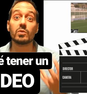 La importancia de tener un video
