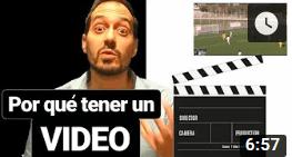 13 razones para tener un video de futbolista