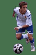 Mario Vicioso extremo del Real Zaragoza Ebro Robres