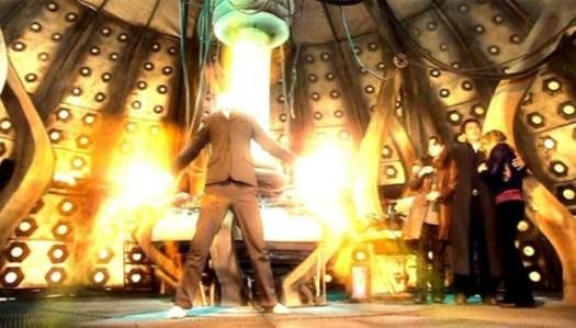 Tenth Doctor Regenerating