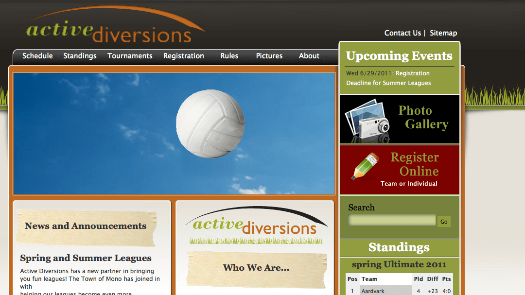 New Site Launch! – Active Diversions