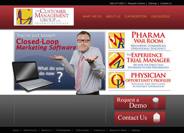 New Site Launch! – Customer Management Group Inc. (www.cmg-pharma.com)