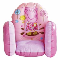 Peppa Pig Inflatable Chair - Pink Children's Vinyl ...