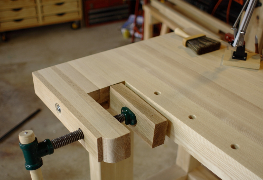 The Workbench Finishing Touches The Wireless Woodworker