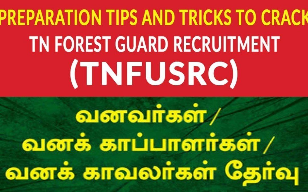 TNFUSRB Forester and Forest Guard 2018